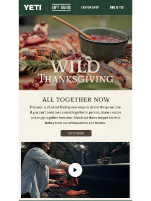 YETI - Enjoy Together: 🦃 YETI Kitchen Essentials