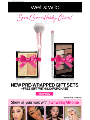 wet n wild - Making Holiday shopping easy!