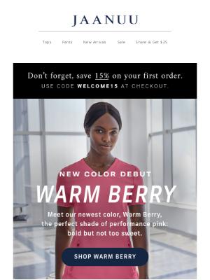 Jaanuu - Introducing: Warm Berry