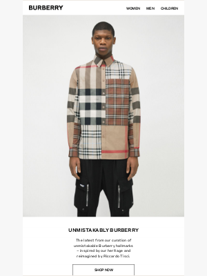 Burberry USA - New in: Unmistakably Burberry for Men