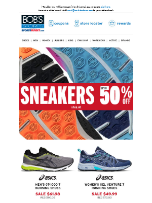 Eastern Mountain Sports - 🔴 Sneakers Up to 50% OFF 🔴