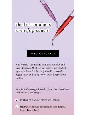 Function of Beauty - We're serious about ingredient + product safety