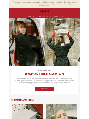 HUGO BOSS (UK) - Fashion with impact: responsible styles from HUGO