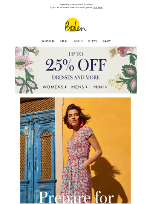 Boden (UK) - Flattery gets you everywhere (up to 25% OFF helps, too)