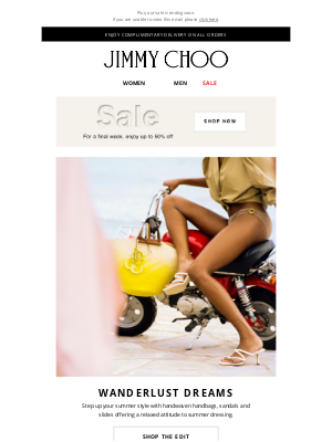 Jimmy Choo - Standout Summer Style