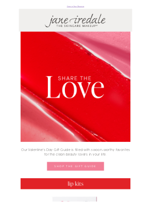 jane iredale - Gifts from the heart