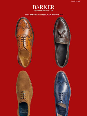 Barker Shoes (UK) - Further Reductions: Up To 50% Off Selected Styles | Shop By Last | Clearpay: Pay In Four