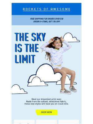 ROCKETS OF AWESOME - On cloud nine ☁️