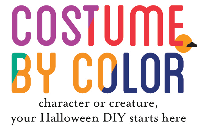 costume by color: character or creature, your Halloween DIY starts here