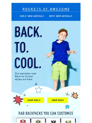 New Back-to-School styles Joca will 💗