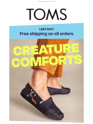 TOMS - Cute critter Alpargatas 🦊 | FREE shipping—last day!