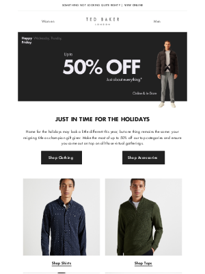 Ted Baker (UK) - Shop our top categories