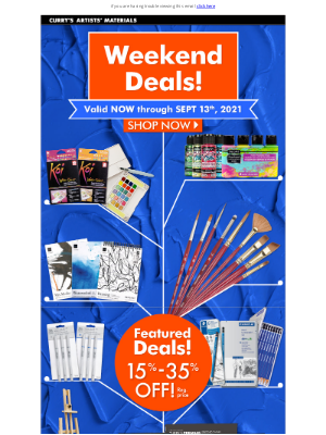 Curry's Art Store (CA) - New Deals Just Dropped - Check it out!