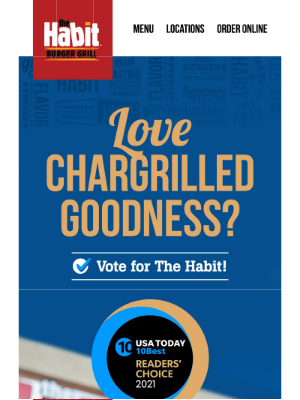 The Habit Burger Grill - Vote For The Habit!