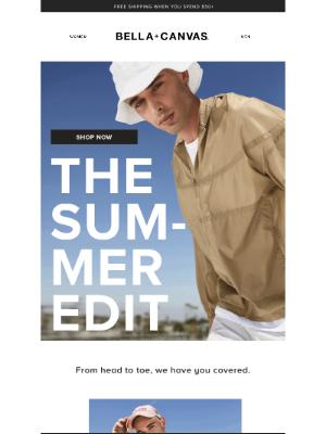 Bella + Canvas - Summer Essentials Done Right