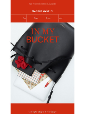 Mansur Gavriel - The perfect bag for your laptop