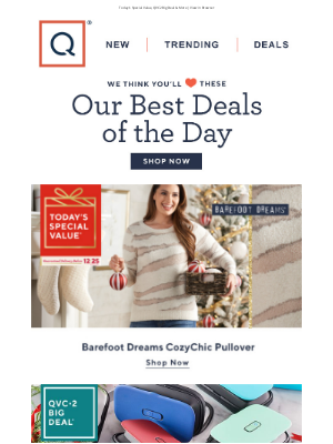 QVC - Today's Top Deals (Monday, December 14, 2020)