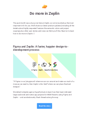 Zeplin - The latest product updates from Zeplin: Publish in Order is here. 🚦