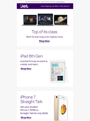 Go back to school with Apple