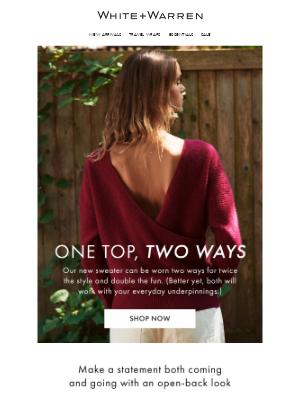 White + Warren - One Top, Two Ways