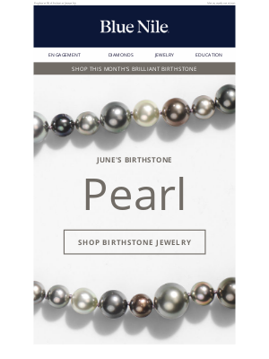Blue Nile - Pearls: The Perfect Gifts For June Birthdays!