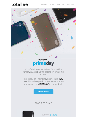 We're going BIG for Amazon Prime Day.