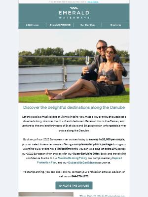 Emerald Waterways - Save $2,000 per couple on Danube river cruises