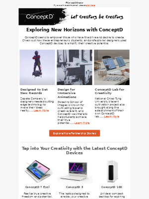 Acer - Discover New Ways to Get Creative with ConceptD