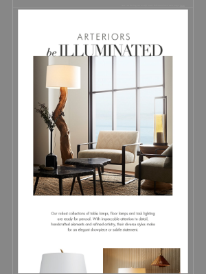 Arteriors Home - Beloved Lamps that strike inspiration