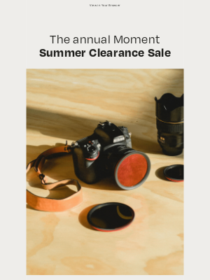 Moment, Inc. - Up to 65% Off (Almost) Everything