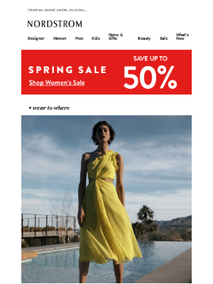 Spring invites? Find dresses for every event
