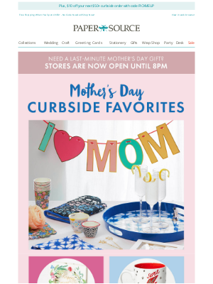 Paper Source - Our Top Picks for Mom (Get Them Fast with Curbside!) 💝