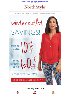 NorthStyle - Amazing Doorbusters ~ Sweaters Starting at $15 ~ January Clearance Event!