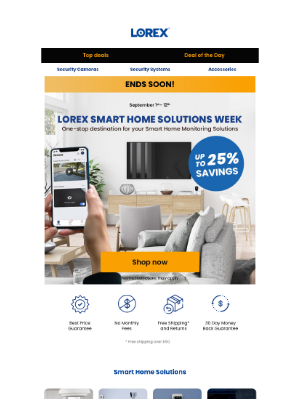 Lorex Technology - Ends Soon! Up to 25% off