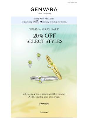 Gemvara - 20% Off Everyday Custom Jewelry