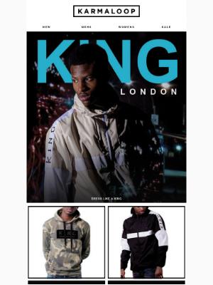 Be a Streetwear 👑 in King - London's Finest Threads
