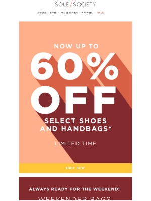 Sole Society - Save up to 60% on styles to wear now & later