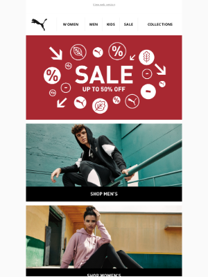 PUMA (UK) - Monday Motivation | Up To 50% Off*