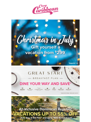 Christmas in July is Here!