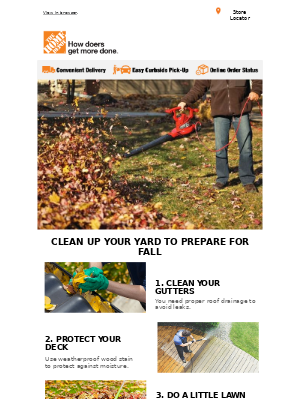 The Home Depot (CA) - ✏️✔️ Here's your fall yard cleanup checklist!