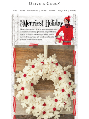 Olive & Cocoa - Your Merriest Holiday