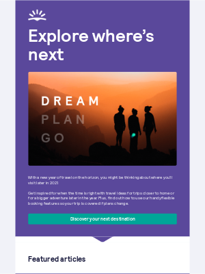 Skyscanner (UK) - Here's some inspiration for when you're ready ✈️🌏