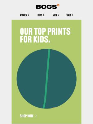 Our Latest Kids' Prints   Shop Now