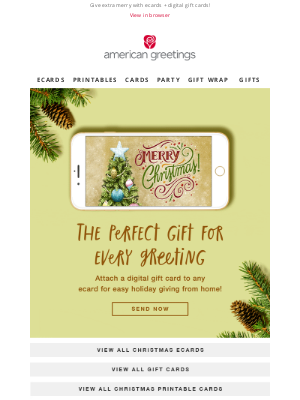 American Greetings - loree, add extra merry to your holiday ecards!