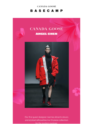 Canada Goose (CA) - Our first guest designer debuts soon...
