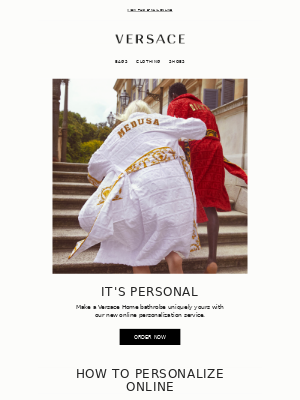 Introducing Our Bathrobe Personalization Service