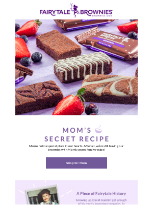 Fairytale Brownies - Mom-approved brownies for Mother's Day