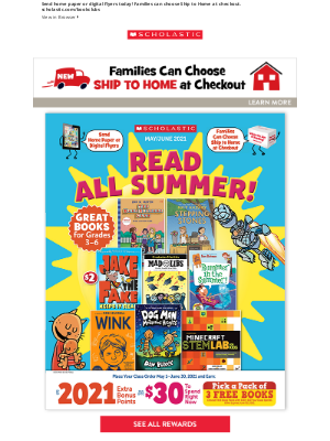 Scholastic - 📚 Keep Your Class Reading All Summer! 🏖