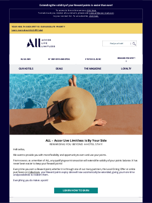 Fairmont Hotels - elisa, your loyalty program is evolving!