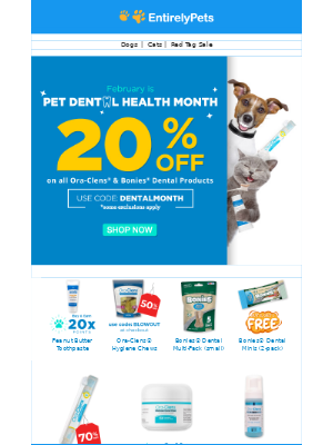 Smile! It's Pet Dental Health Month 🦷
